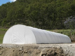 4.2m Poly Tunnelhouse Hothouse