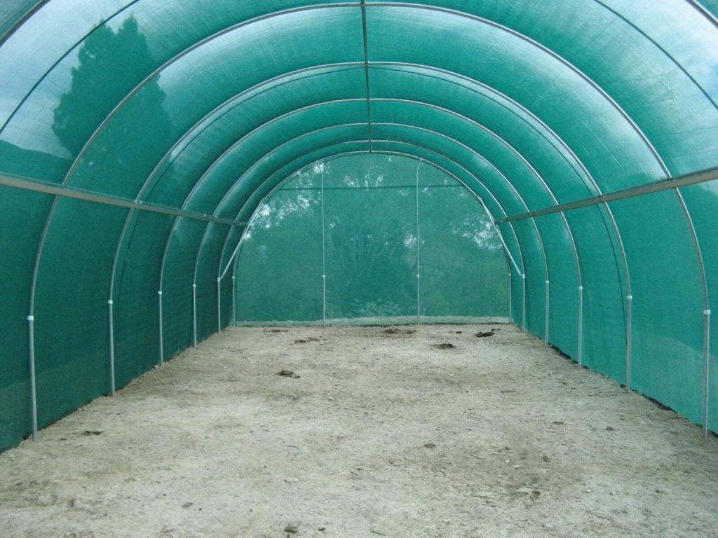 4.2m Shadecloth Tunnelhouse