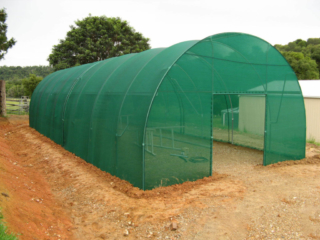6.0m Shadecloth Tunnelhouse