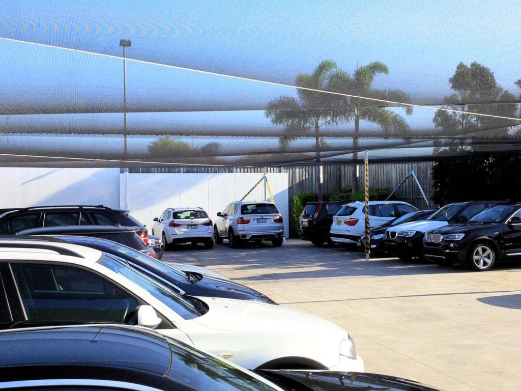 BMW Car Yard Hail Protection Covers