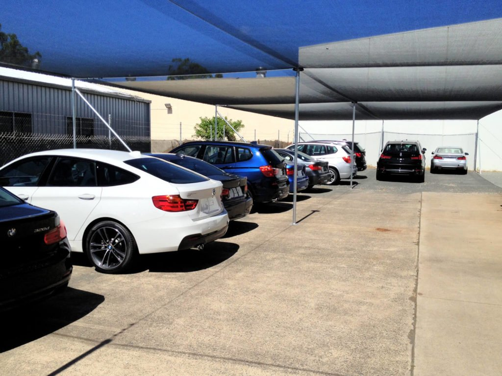 BMW Car Yard Hail Protection Covers