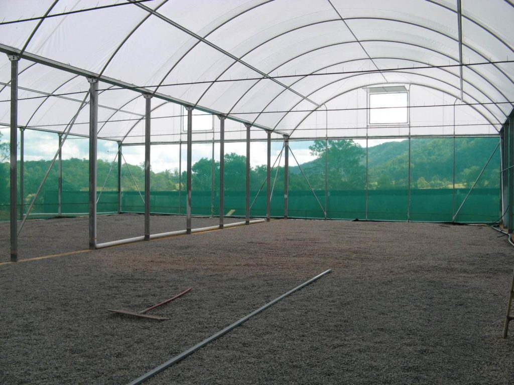 Gutter Connected Poly Tunnelhouse Hothouse