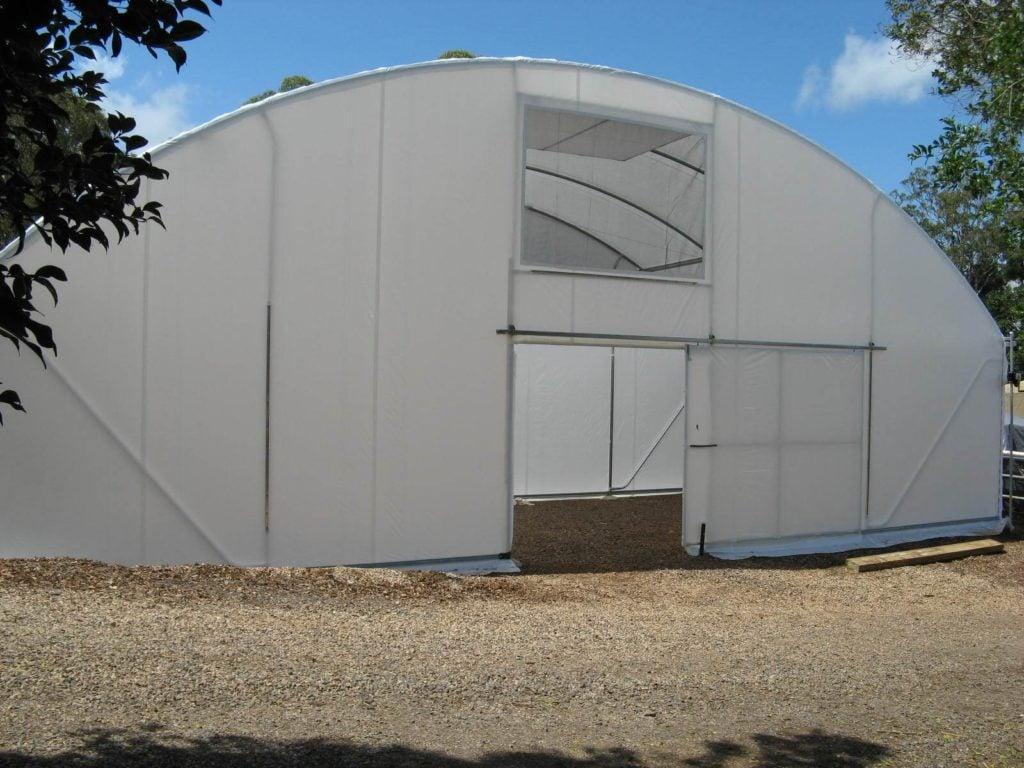 Vertical Wall Poly Tunnelhouse Hothouse