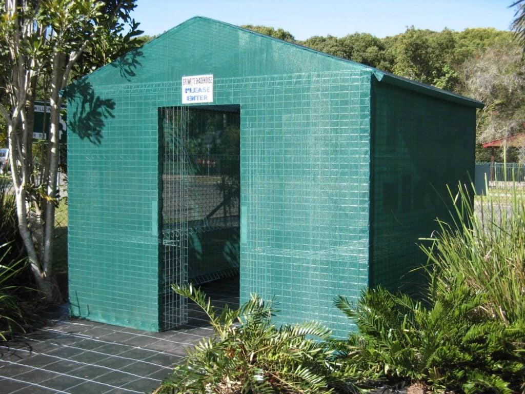 Weldmesh Shadehouse Greenhouse