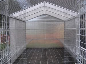 Weldmesh Shadehouse Greenhouse