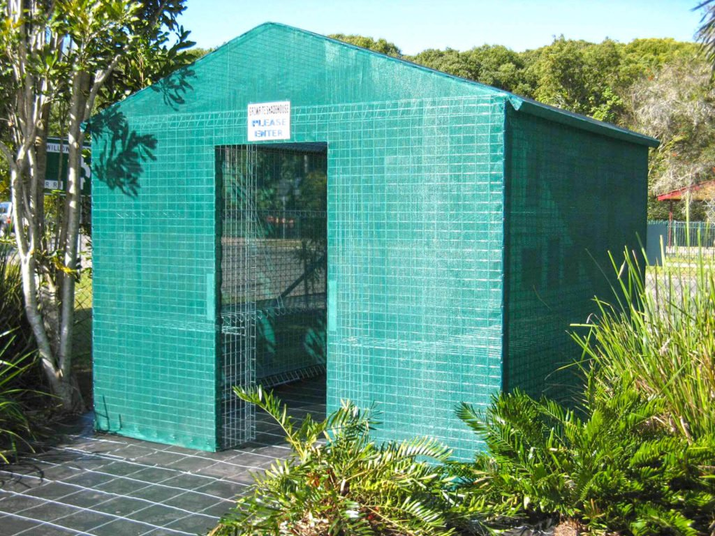 Weldmesh Backyard Shadehouse Greenhouse or Bushhouse